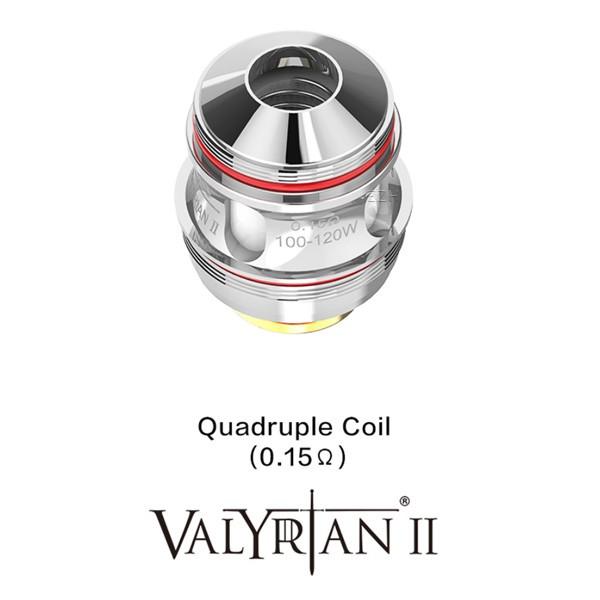 """Uwell - Valyrian 2 Quadruple Coil """"2er Pack"""""""