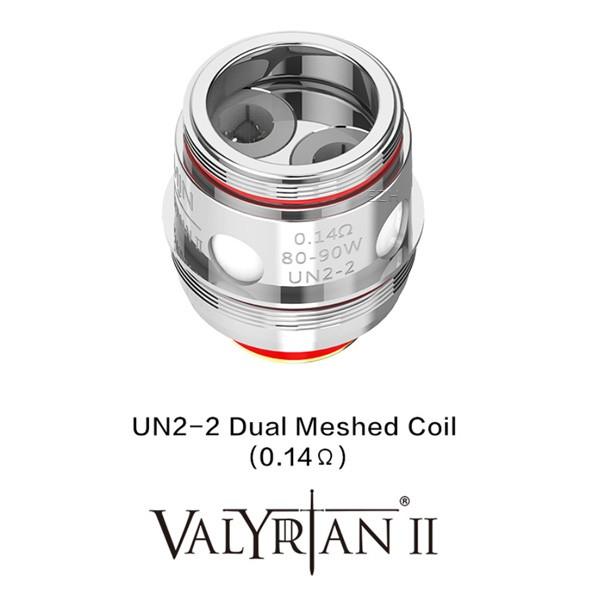 "Uwell - Valyrian 2 UN2 Dual Mesh Coil ""2er Pack"""